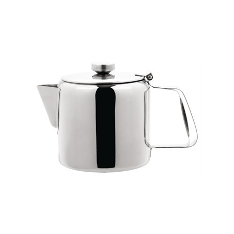 Olympia Concorde Tea Pot Stainless Steel 70oz