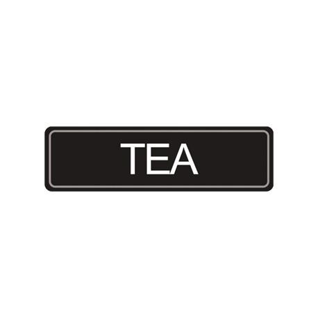 Airpot Tea label