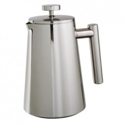 Olympia Insulated Stainless Steel Cafetiere 6 Cup