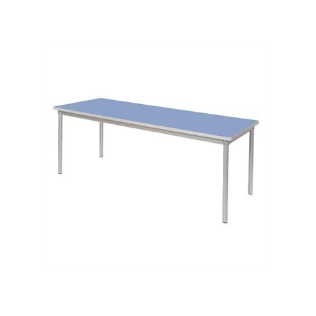 Gopak Enviro Indoor Campanula Blue Rectangle Dining Table 1800mm