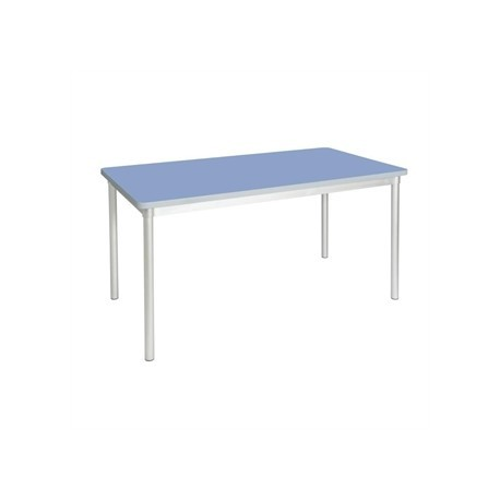 Gopak Enviro Indoor Campanula Blue Rectangle Dining Table 1400mm