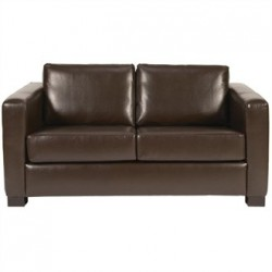 Bolero Faux Leather 2 Seater Sofa