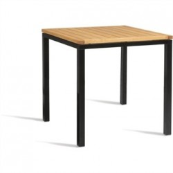Bolero Wooden Square Table 750mm