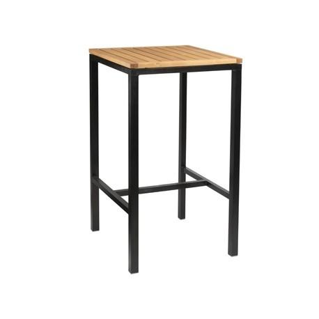 Bolero Wooden Square Poseur Height Table 600mm