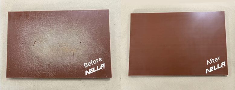 Nella Cutting Board Resurfacing Brown