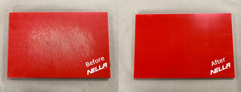 Nella Cutting Board Resurfacing Red